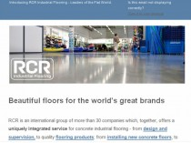 RCR launches enewsletter
