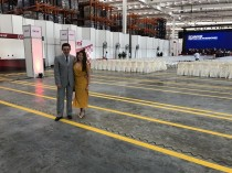 RCR attends the inauguration of Tía distribution centre in Guayaquil