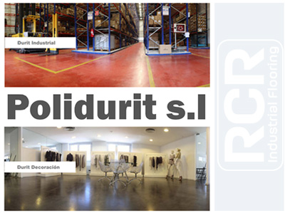 RCR Industrial Flooring S.A.U. formalizes the purchase of POLIDURIT